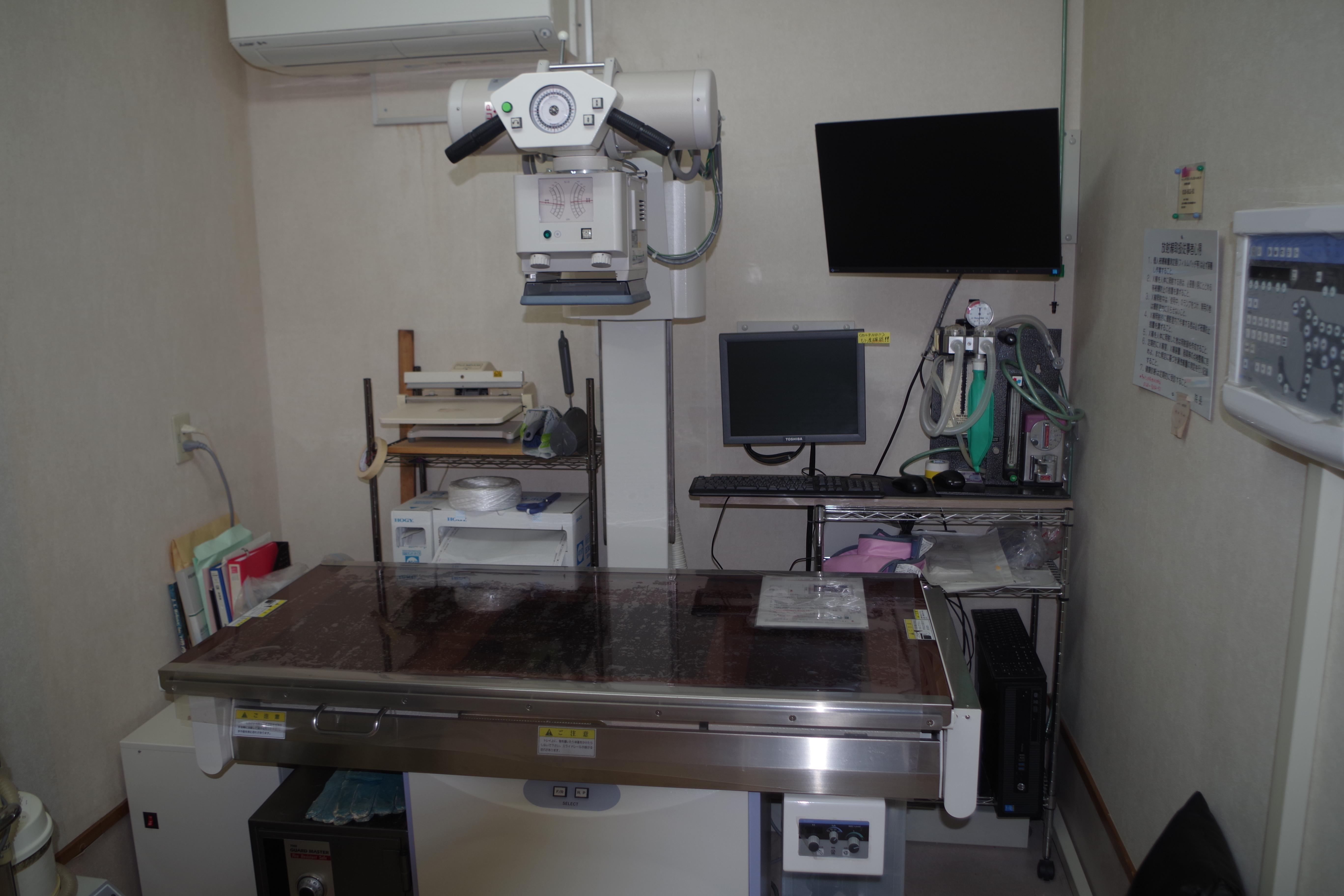 レントゲン室 (DR)